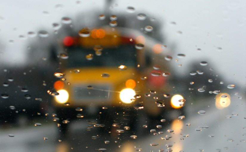 Wet Weather Tips For Bus Drivers