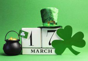 March 17 Calendar Image