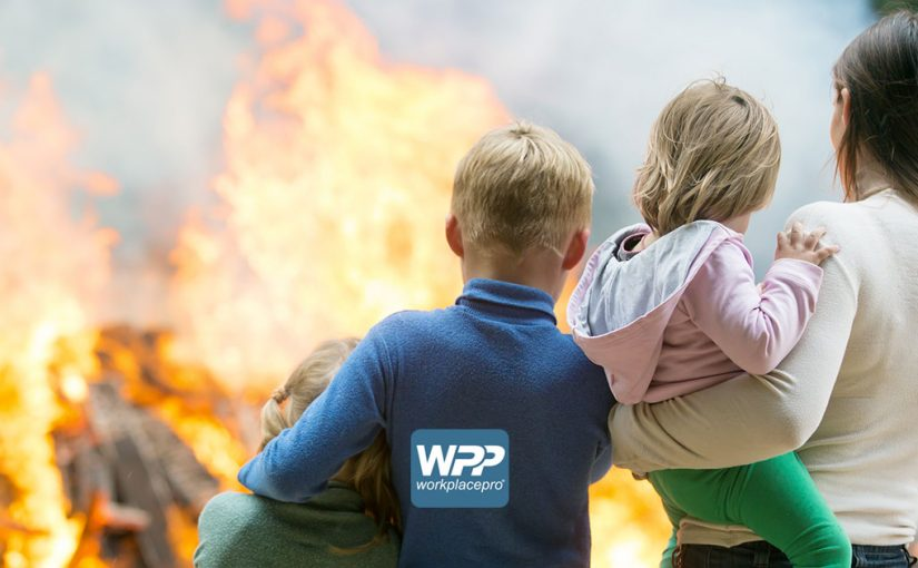 An escape plan can save your family from a fire